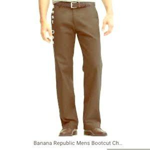 Men's Banana republic bootcut Chinos
